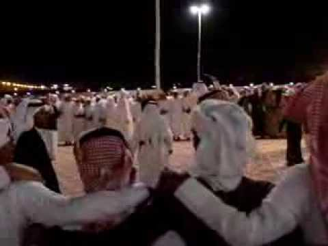 Traditional Dance Held at Wedding Ceremony in Najran, Saudi Arabia