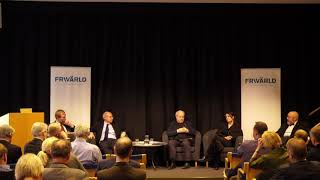 Panel discussion and reflections: Bill Browder, Patrik Oksanen, Karin Olsson, Olof Ehrenkrona