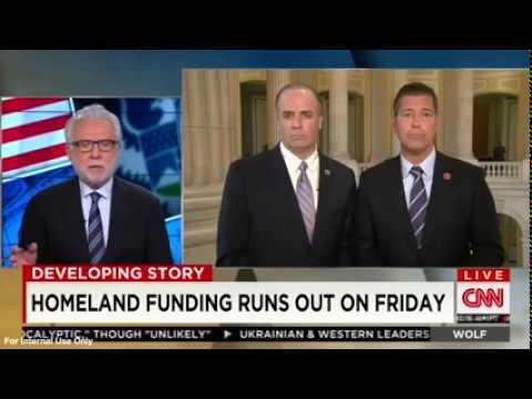 Duffy on Wolf: Dems hold Homeland Security hostage to fund Executive Amnesty
