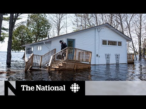 New Brunswick flooding leaves homes submerged