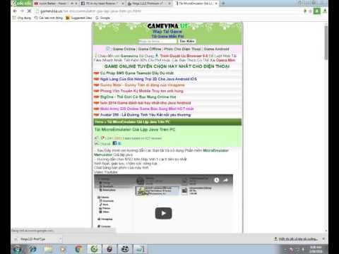 tải hack ninja school online cho máy tính - ninja school online hướng dẫn tải microemulator và tải pb hack ninjaschool