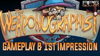 The Weaponographist - Simple, Cute & Funny (Gameplay & 1st Impression)