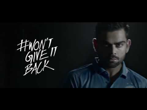 Inspiring song of Indian cricket team ( heart touching video )