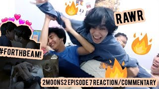 Gambar cover FORTHBEAM BED SCENE GAY CHAOS 2MOONS2 EP. 7 REACTION/COMMENTARY แฟนเก่าสวยขนาดนี้ ปัจจุบันจะขนาดไหน