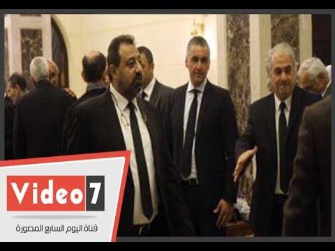 نجوم الرياضة والمجتمع فى عزاء سمير زاهر  - 21:22-2018 / 3 / 16