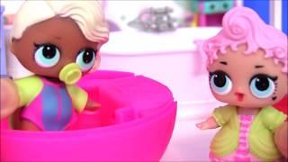 Lol Dolls Видео для Детей | КУКЛЫ ЛОЛ ЖИВУТ ВМЕСТЕ #Куклы #Пупсики #Мультфильм #пупсы #Киндер