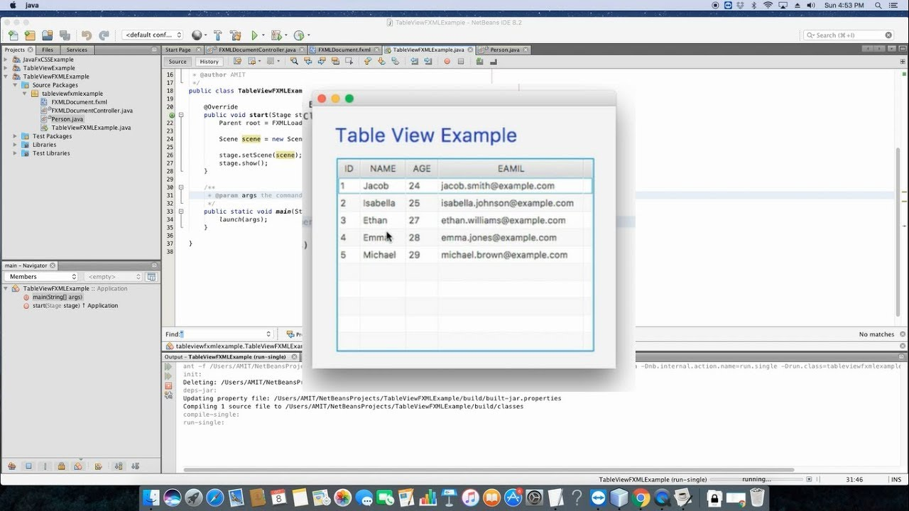 Javafx adding data in tableview using fxml populating rows in javafx adding data in tableview using fxml populating rows in tableview baditri Images