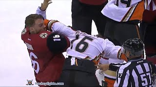 Ryan Garbutt vs Max Domi Mar 3, 2016