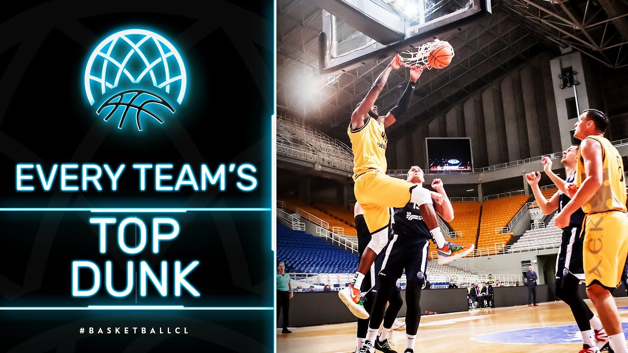 WOW! Best Dunk from every Team🤩 | Basketball Champions League 2020/21