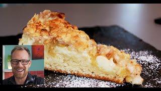 How to Make Rhubarb-Crumble-Cake - German Recipes - Episode 5