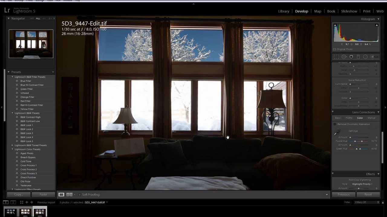 Interior windows - Photoshop Selection Tool For Real Estate Interior Windows Tutorial Youtube