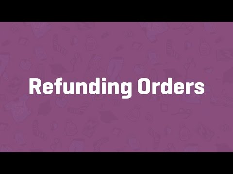 Refunding Orders - WooCommerce Guided Tour