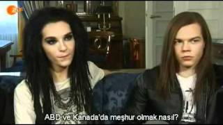 tokio hotel 12 09 09 leute heute interview part 1 trke altyazı turkish subtitles