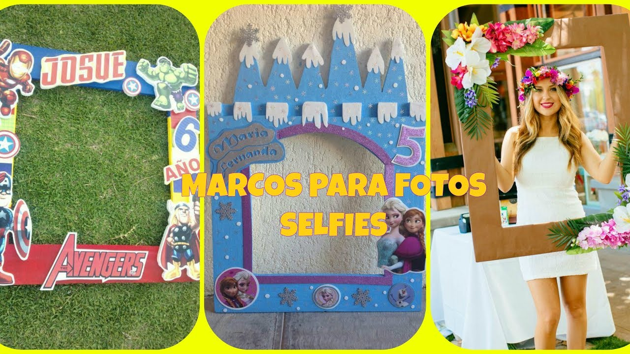 Marcos para tomarse fotos en las fiestas fotos selfies - Decoracion de marcos para fotos ...
