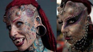 25 Terribly Insane Body Piercings   25 страшных пирсингов на человеке