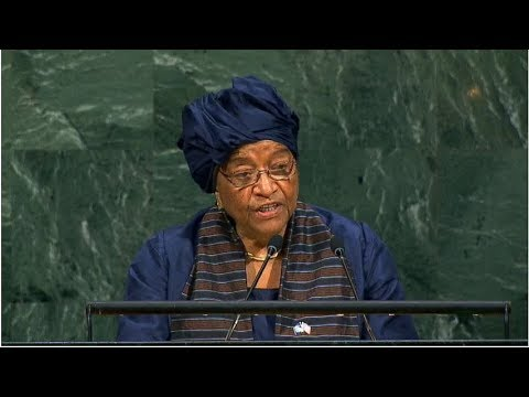 Liberia - President Addresses 72nd Session United Nations General Assembly