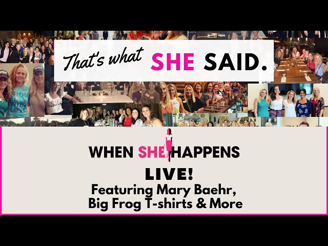 A conversation with Mary Baehr