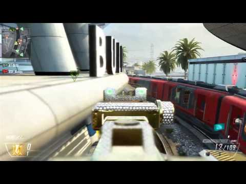 Black Ops 2 Glitches - New Amazing Glitch Spots On Express!