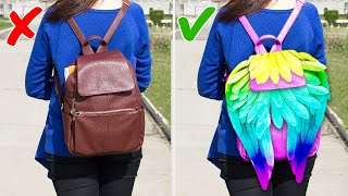 27 DIY BAGS AND CLOTHES IDEAS TO MAKE IN 5 MINUTES