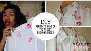 DIY 7k DESIGNER MARGIELA SHIRT FOR $15