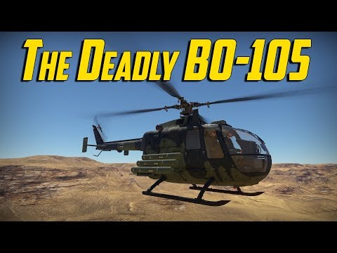 War Thunder - The Deadly BO-105