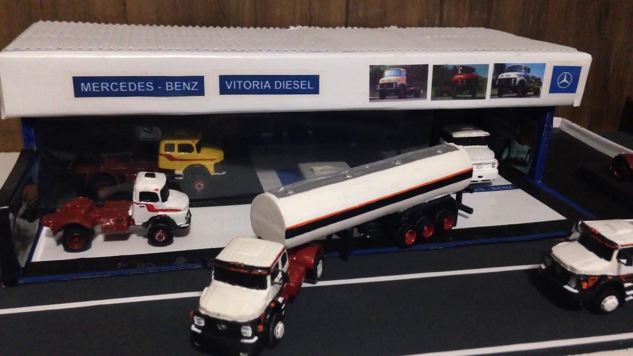 Miniaturas de caminhões - Mercedes-Benz fc4bb518b11ab