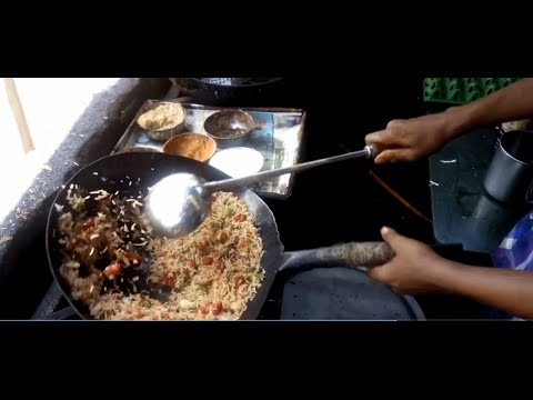 CHICKEN FRIED RICE | STREET FOOD | INDIAN STYLE