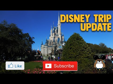 Disney Trip Update