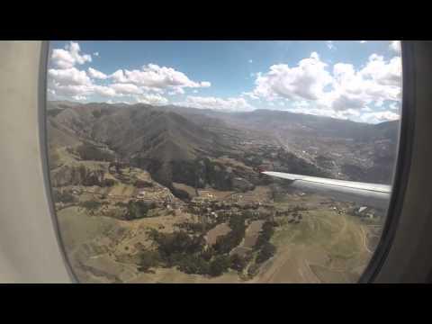 Lima to Cusco flight
