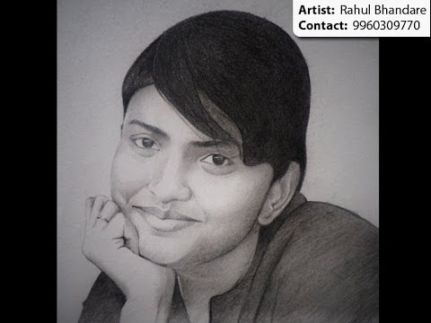Pencil sketch & charcoal painting artist in Pune & Mumbai