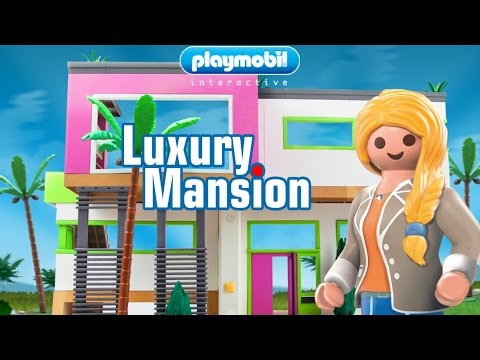 PLAYMOBIL Luxury Mansion ★ Free Game App for Kids - Android, iOS, Kindle Fire