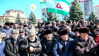 Что сейчас происходит в Ингушетии Врачи посмеялись над своей зарплатой. Вспоминаем дух свободы 90 х