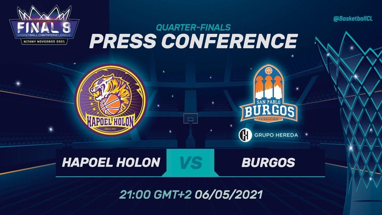 Hapoel Unet-Credit Holon v Hereda San Pablo Burgos - PC | Basketball ChampionsLeague 2020/21