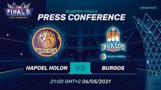 Hapoel Unet-Credit Holon V Hereda San Pablo Burgos - PC   Basketball ChampionsLeague 2020/21