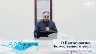 Сергей Моисеев, «О Благословении Божественного мира»,  г. Екатеринбург, Россия.