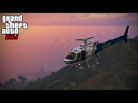 GTA 5 Roleplay - DOJ 229 - Air One 2.0 (Law Enforcement)