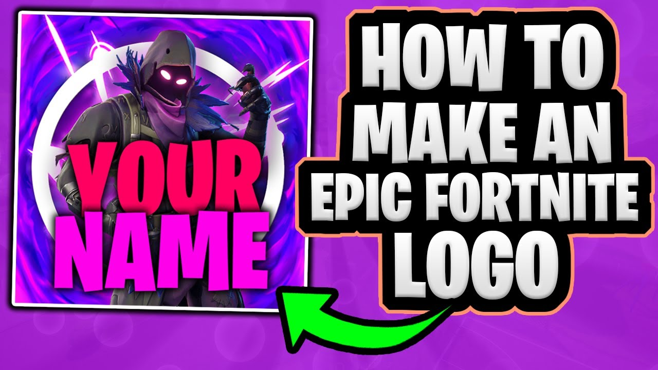 How To Make An Epic Fortnite Logo In Photoshop Free Template Youtube Fortnite brand logo in vector (.eps +.svg) format. how to make an epic fortnite logo in photoshop free template