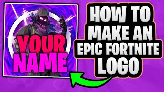 How To Make An EPIC Fortnite Logo In Photoshop! + Free Template
