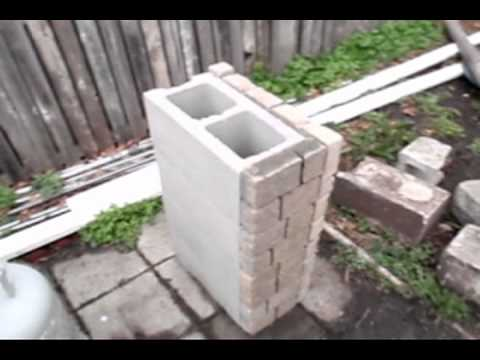 Charming How To Build A Stone Grill