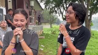 Pesta ultah aqella ( part 3 ) Kiesas duet lo 😍  Terlanjur cinta - Pasha Unggu ft Rossa ( cover )