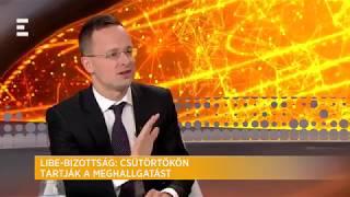 Bevándorláspárti kormányt akar Soros Magyarországon - Szijjártó Péter - ECHO TV