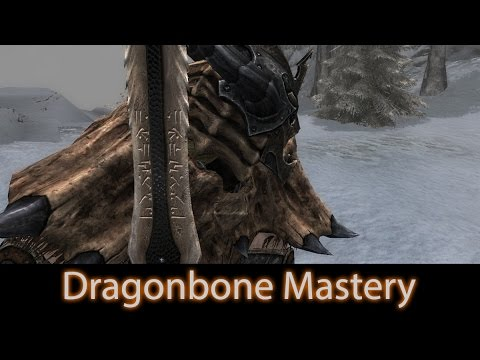 Skyrim Mod Spotlight 2016 Dragonbone Mastery Weapons Retexture