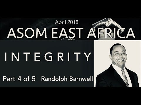 Righteousness, Grace & Faith in Financial Giving - Part 4 (INTEGRITY) By Randolph Barnwell