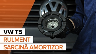 Ghid video pentru începători despre cele mai curente reparații ale VW T5 Van