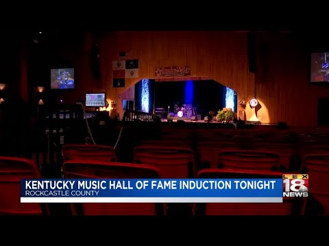 Kentucky Music Hall Of Fame Induction Tonight
