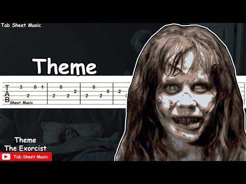 The Exorcist (El Exorcista) - Theme Guitar Tutorial