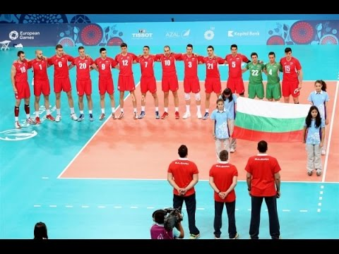 Volleyball European Games Baku 2015 - Bulgaria - Italy (Pool B)