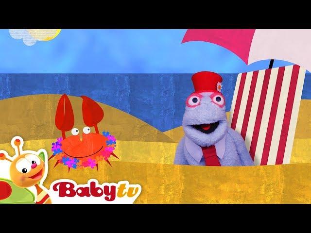At the Beach with Sunny Sky | BabyTV