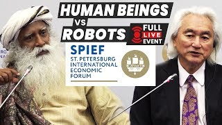 Technologies of the Future | Sadhguru and Michio kaku (2018) LIVE from Russia