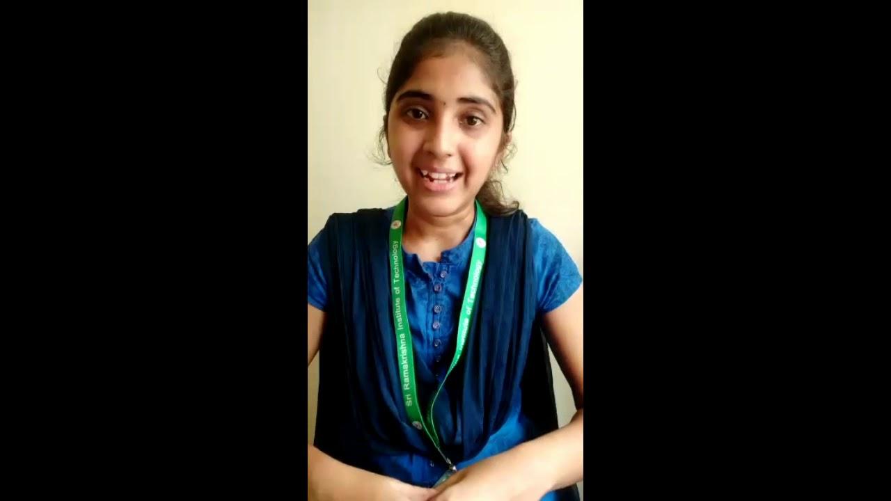 Download Preethika P: SRIT Talks